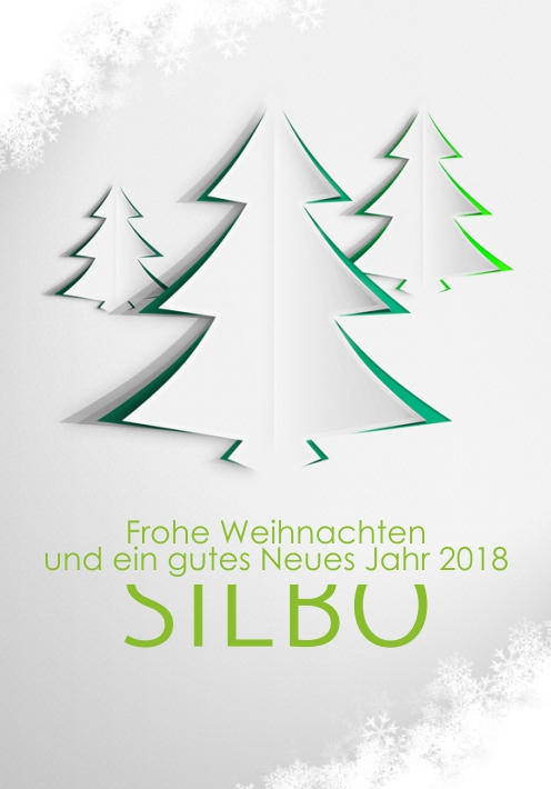 silbo frohe weihnachten und ein gutes neues jahr 2018. Black Bedroom Furniture Sets. Home Design Ideas