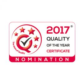 Silbo competes for the QUALITY OF THE YEAR® Certificate again