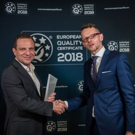 SILBO received the QUALITY OF THE YEAR 2017 statuette
